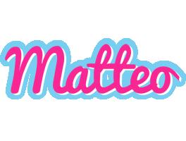 Matteo popstar logo