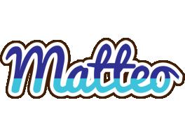 Matteo raining logo