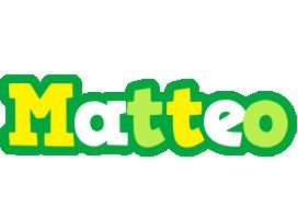 Matteo soccer logo