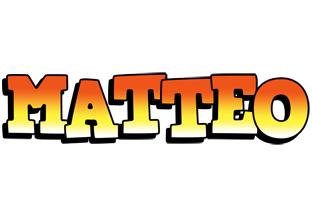 Matteo sunset logo