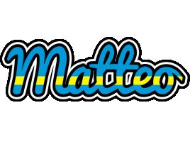 Matteo sweden logo