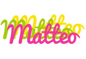 Matteo sweets logo