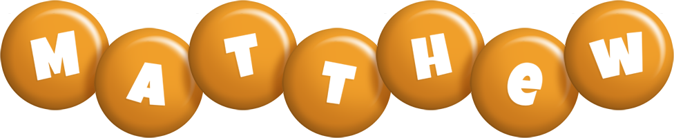 Matthew candy-orange logo