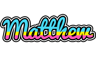 Matthew circus logo