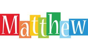 Matthew colors logo