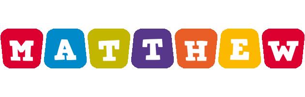 Matthew daycare logo