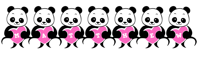 Matthew love-panda logo