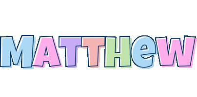 Matthew pastel logo