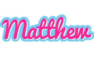 Matthew popstar logo