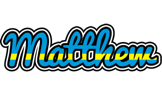 Matthew sweden logo