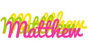 Matthew sweets logo
