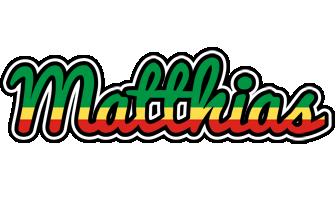 Matthias african logo