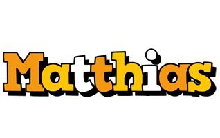 Matthias cartoon logo