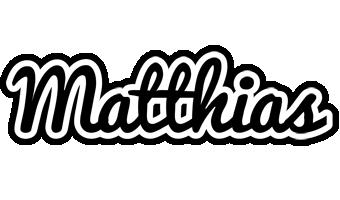 Matthias chess logo