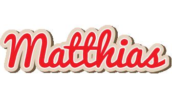 Matthias chocolate logo