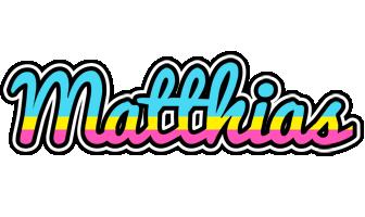 Matthias circus logo