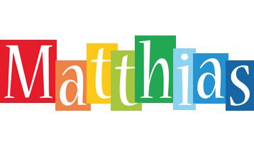 Matthias colors logo