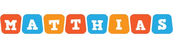 Matthias comics logo