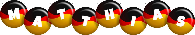 Matthias german logo