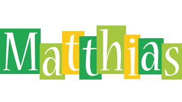 Matthias lemonade logo