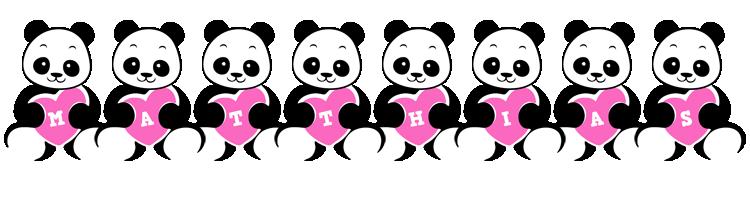 Matthias love-panda logo