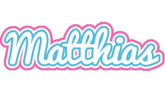 Matthias outdoors logo