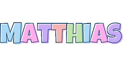 Matthias pastel logo