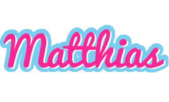 Matthias popstar logo