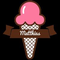 Matthias premium logo