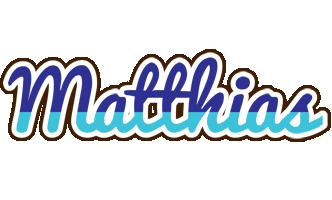 Matthias raining logo