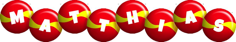 Matthias spain logo