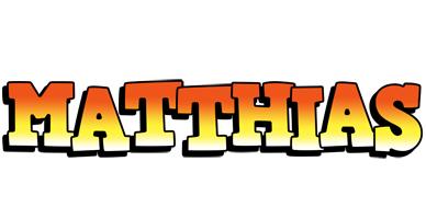 Matthias sunset logo