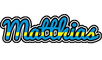 Matthias sweden logo