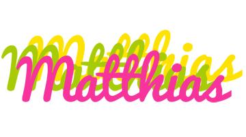 Matthias sweets logo