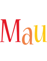 Mau birthday logo