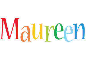 Maureen birthday logo