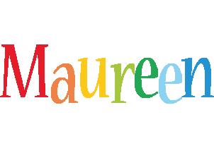 Maureen birthday logo