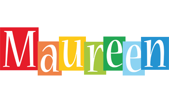 Maureen colors logo