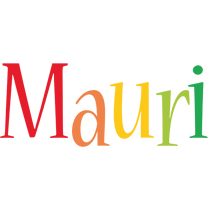 Mauri birthday logo