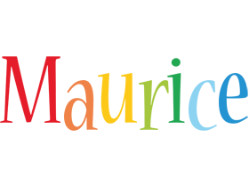 Maurice birthday logo