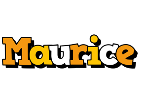 Maurice cartoon logo