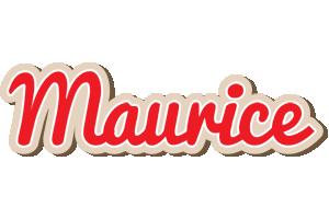 Maurice chocolate logo