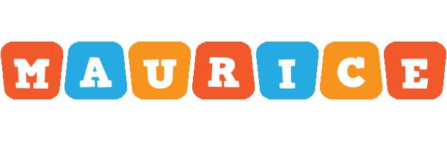 Maurice comics logo