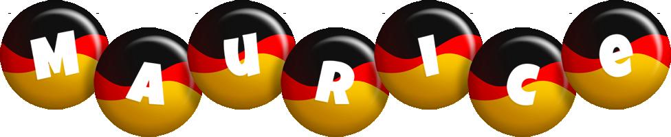 Maurice german logo