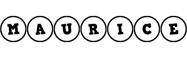 Maurice handy logo