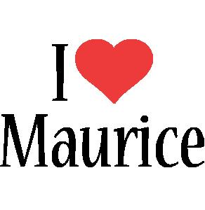 Maurice i-love logo