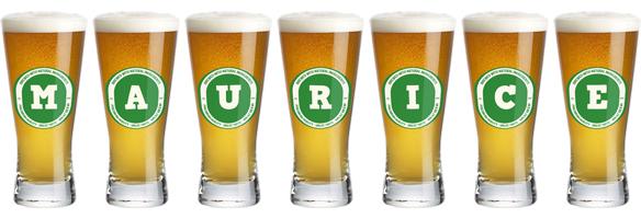Maurice lager logo
