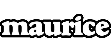 Maurice panda logo