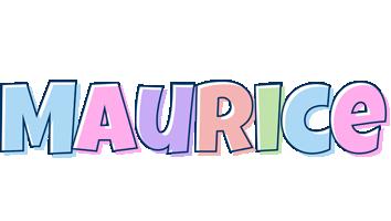 Maurice pastel logo