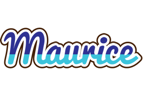 Maurice raining logo